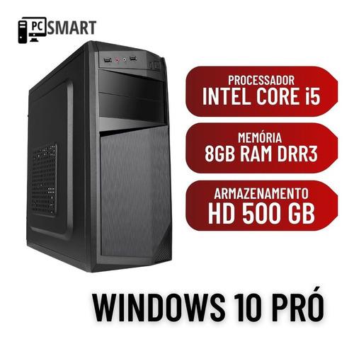 Cpu Desktop Pc Computador I5 650 3,2 Ghz 8gb Ram 500gb Win10