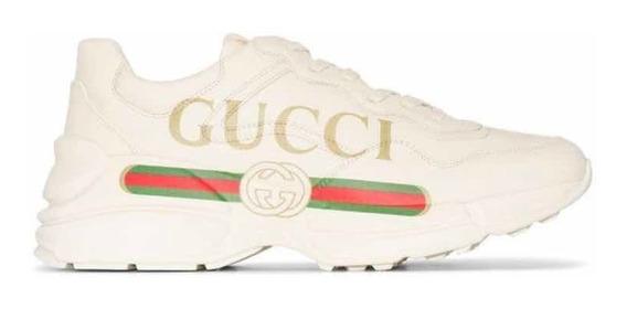 Tênis Rhyton Gucci Com Logo