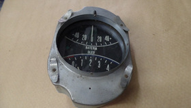 Relógio Aero Willys Bateria/óleo