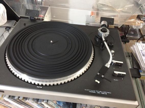 Toca Discos Gradiente Dd 100 + Pré De Phono = Technics Jbl
