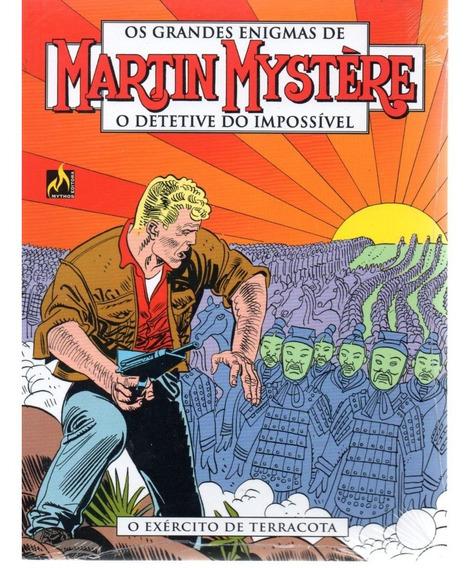 Martin Mystere 02 2ª Serie - Mythos 2 - Bonellihq Cx434 J18