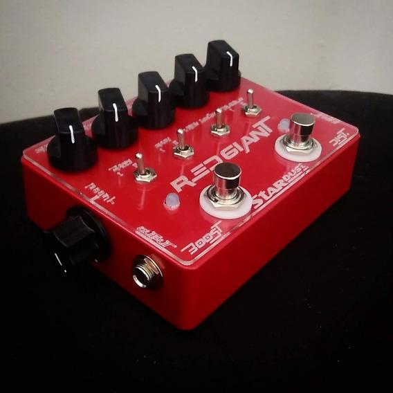 Stardust Pedals - Red Giant - Distorção + Booster
