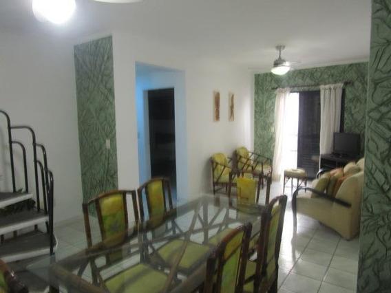Cobertura Para Venda Em Praia Grande, Vila Caiçara, 3 Dormitórios, 2 Suítes, 4 Banheiros, 2 Vagas - Ap0261_2-891575
