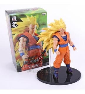 Figura Muñeco Goku Super Saiyajin 3 Dragon Ball Leer Bien!