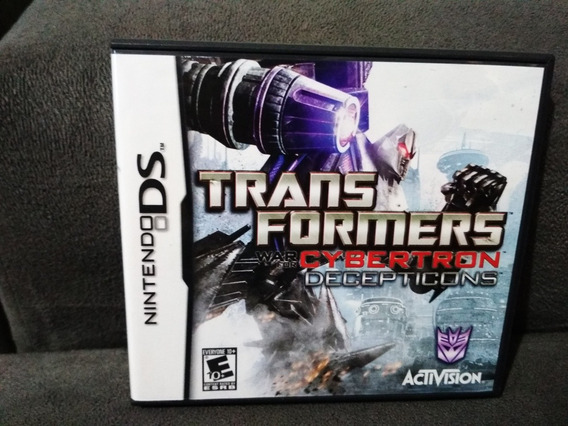 Transformers Cybertron Nintendo Ds Completo