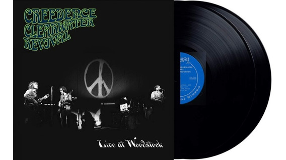 Creedence Clearwater Revival Live At Woodstock Vinilo Doble
