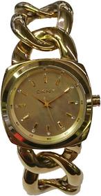 Relógio Dkny Dourado- Ny4841n