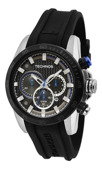 Relógio Technos Js25aq/8a Cronógrafo Cor Prata 12x Sem Juros