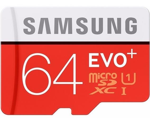 Cartão De Memoria Sansung Evo+ 64gb