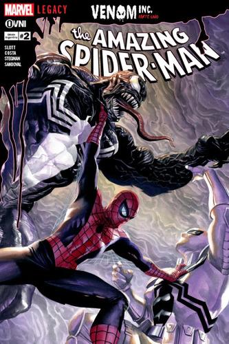Cómic, Marvel, Amazing Spider-man (legacy) #2. Ovni Press
