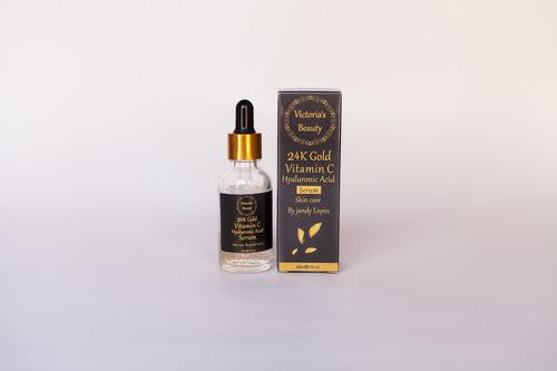 Ácido Hialurónico, Vitamina C, Oro, Se - mL a $3