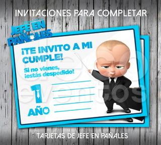 Jefe En Pañales Tarjetas Cumpleaños En Mercado Libre Argentina