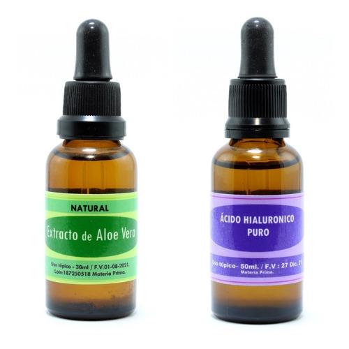 Aloe Vera Glicolado + Ácido Hialuronic - mL a $963