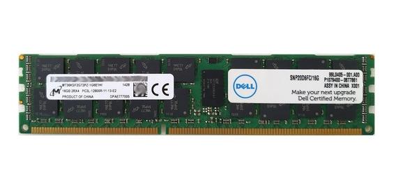Memória 16gb Ddr3-1600mhz Ecc Rdimm Dell R420 R720 R620 T420 T620 Hp Dl560 Ml350p Dl360e Dl380e G8 Ibm Lenovo Rd540
