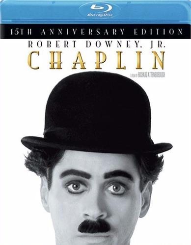 Imagen 1 de 3 de Blu-ray Chaplin La Pelicula (1992)