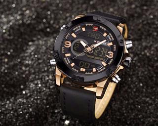 Relógio Original Da Naviforce Masculino Pronta Entrega Lindo