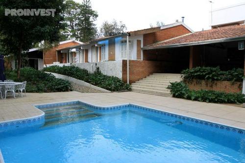 Imagem 1 de 30 de Casa Com 4 Dormitórios À Venda, 554 M² Por R$ 2.500.000,00 - Vila Santo Antônio - Cotia/sp - Ca4538
