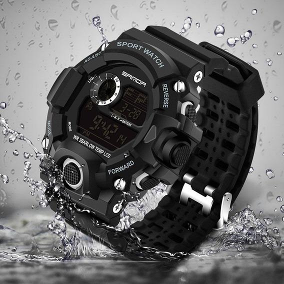 Relógio Sanda 326 Militar Tático Sport Watch D