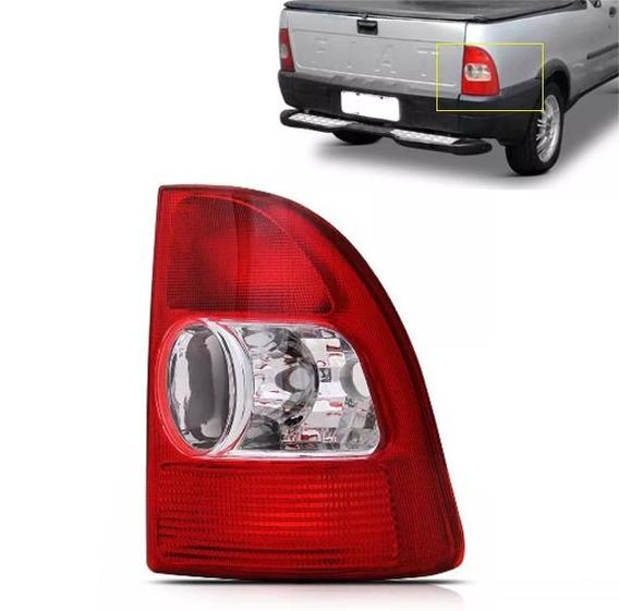 Lanterna Vermelha Rubi Bicolor Lente Acrílico Strada 2004 Ld