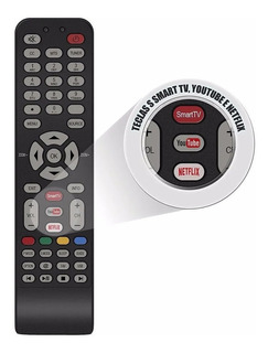 Control Remoto Rca Original Smart Tv Rc199e Youtube Netflix
