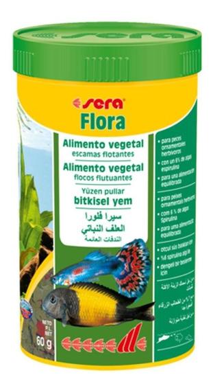 Sera Flora 60g Flocos Peixes Ornamentais