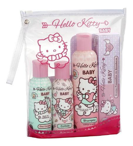 Imagem 1 de 1 de Kit De Presente Com 4 Hello Kitty Baby Cia Da Natureza