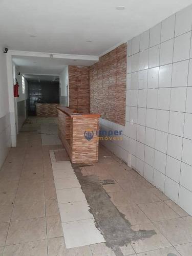 Loja Para Alugar, 122 M² Por R$ 3.800,00/mês - Vila Suzana - São Paulo/sp - Lo0271