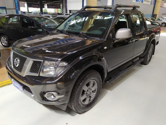 Nissan Frontier 2.5 Sv Attack Preta 2014 (completa)