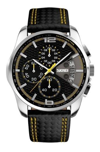 Relógio Skmei Analógico Modelo Luxo Original Nota Fiscal
