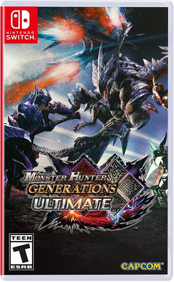 Monster Hunter Generations Ultimate - Switch - Midia Fisica!