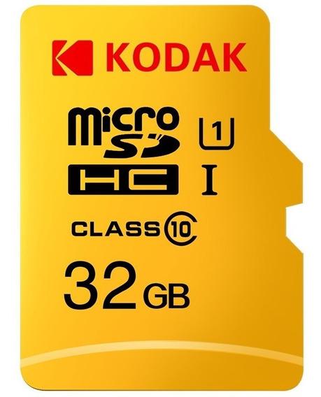 Cartão De Memória Kodak U1 Tf Micro Sd De Alta Velocidade De