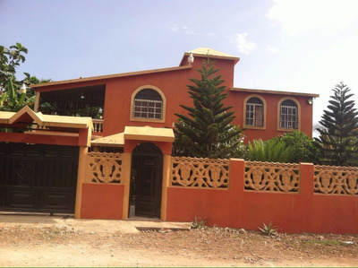 Alquiler Casa Amueblada, Dos Niveles, La Caleta, Boca Chica