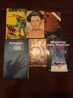 Lote Libros Mujica Lainez, Arthur Conan Doyle, Entre Otros.