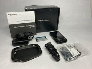 Blackberry Curve 8525 Smartphone Caja Accesorios Y Funda
