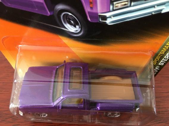 Mini Pickup Chevy Stepside Da Matchbox