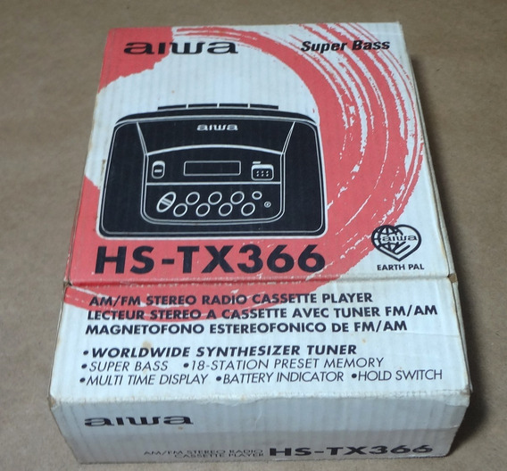 Walkman Aiwa Hs-tx366 Retirada De Peças
