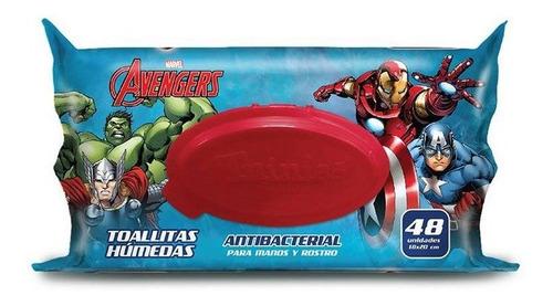 Toallitas Humedas Antibacteriales X80und Avenger