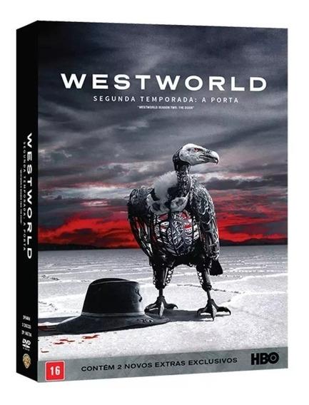 Dvd Box Westworld 2ª Temporada: A Porta Digipack Lacrado!!