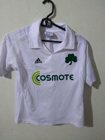 Camiseta Panathinaikos adidas Talle Niño
