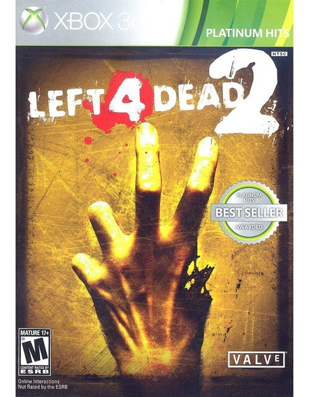 Left 4 Dead 2 - Xbox 360 Lacrado