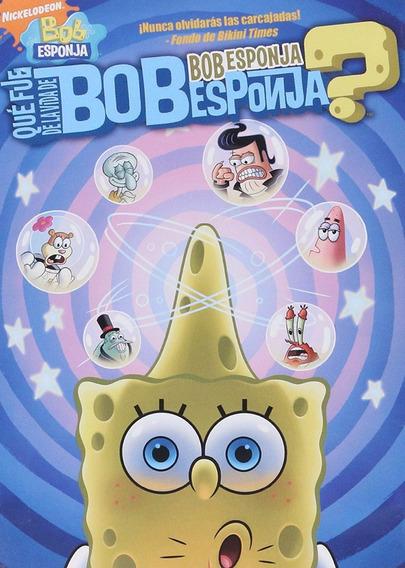 Que Fue De La Vida De Bob Esponja Coleccion 6 Episodios Dvd