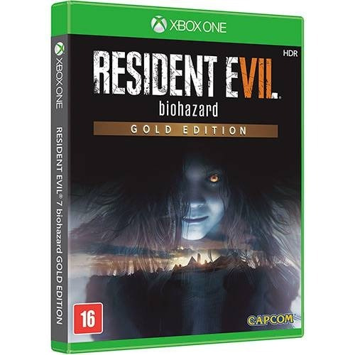 Resident Evil 7 Gold Edition Xbox One Midia Fisica - Lacrado