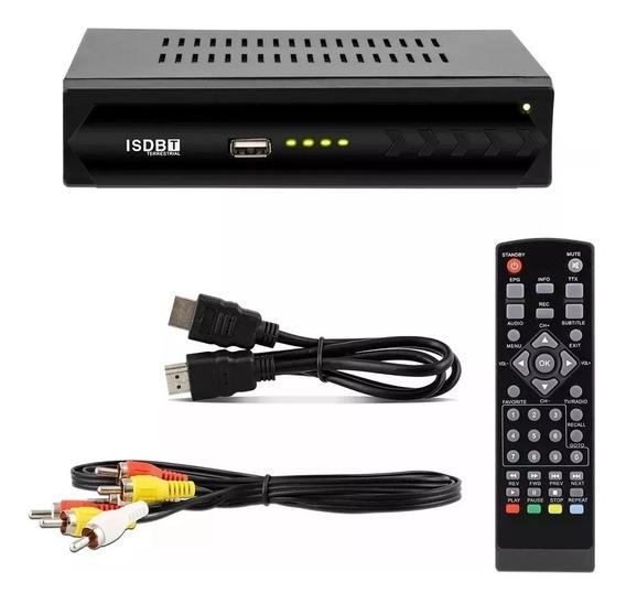 Conversor Digital Usb Full Hd 1080p Set Box Gravador