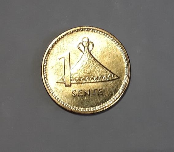 Pequeña Moneda De Lesotho Sin Circular, 1 Sente , 1992