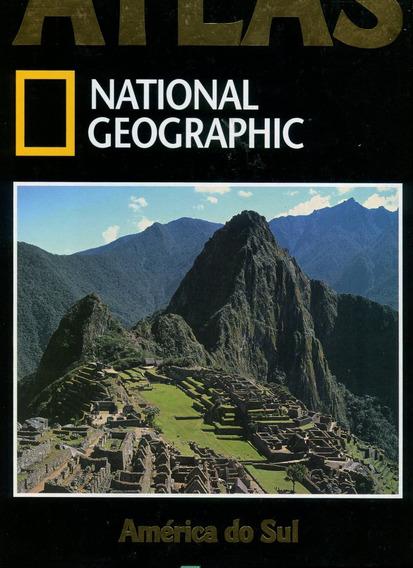 Atlas América Do Sul National Geographic- Ed. Abril - L.2044