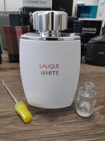 Decant / Amostra Lalique White Pour Homme 10ml
