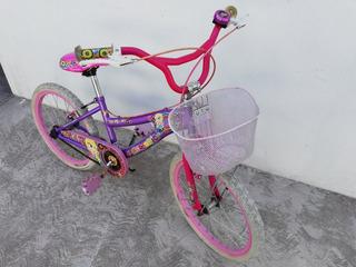 Bicicleta Mercurio R20 Para Niña