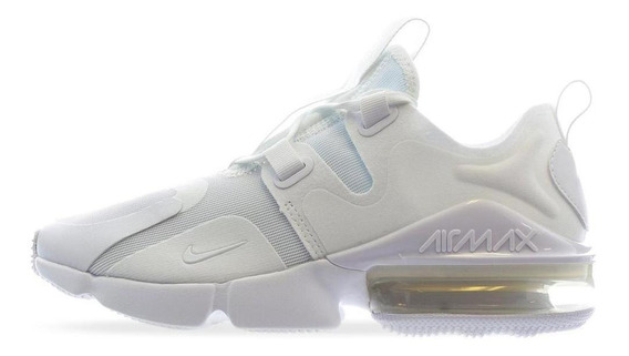 Tenis Nike Air Max Infinity - Bq4284100 - Blanco - Mujer