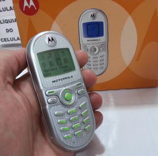 Celular Motorola C200 Lindo Pequeno Original Na Caixa Top