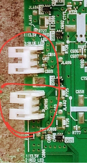 Conector Led